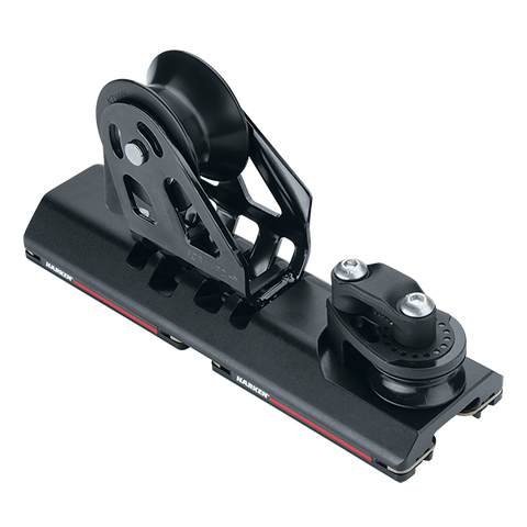 [HK-G2737B.HL] HARKEN  27 mm High-Load Adjustable CB Car — Sheave, Dead End, 3:1