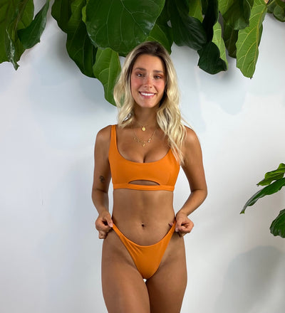 Salle India Bikini Bottom in Marmalade
