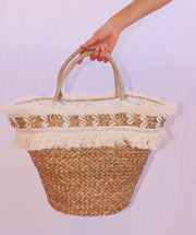 Hotel shell basket small