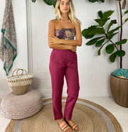 Hotel Holiday Pant in linen
