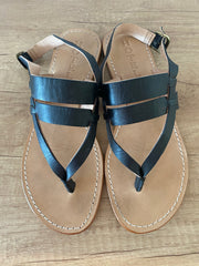 Hotel Alexa Sandals In Black