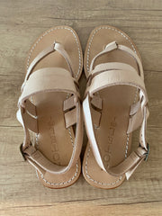 Hotel Alexa Sandals In Tan