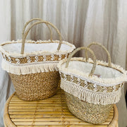 HOTEL Shell Basket Large
