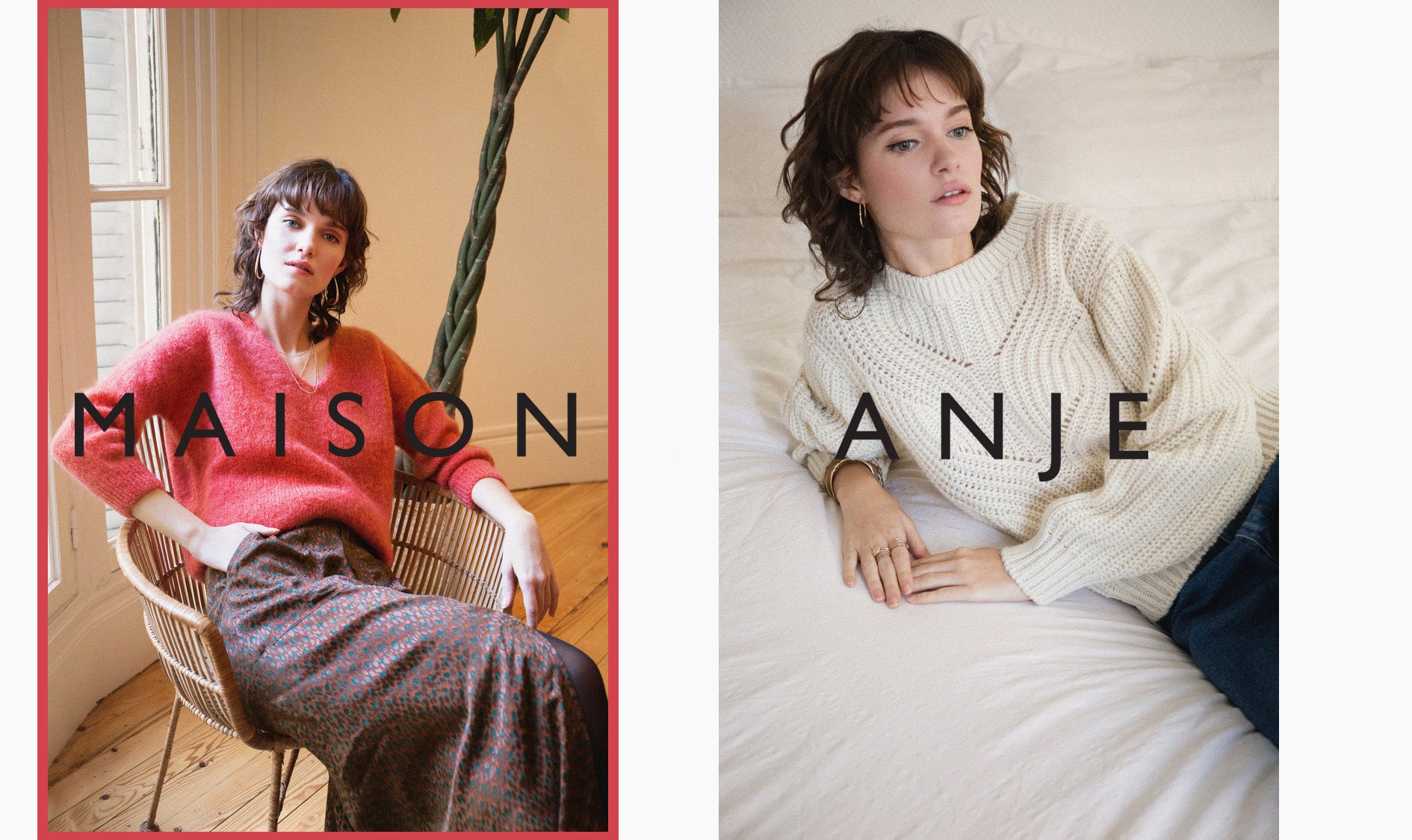 maison anje 2019 winter autumn new arrivals knitwear paris made in france winter fashion cottesloe perth australia iridescent sea beach house