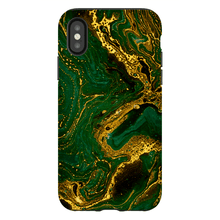Load image into Gallery viewer, Green Floating Marble