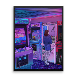 """Arcade"" Art Print by Kelsey Smith / Amdistsilence. Limited Editon."
