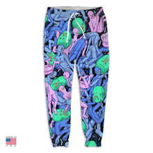 "Load image into Gallery viewer, ""Dreamy Swim"" Joggers by Alex Gamsu Jenkins"