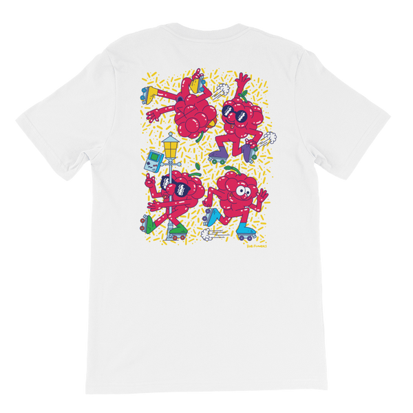 T-shirt Rob Flowers RASPBERRY COOL (Back print)