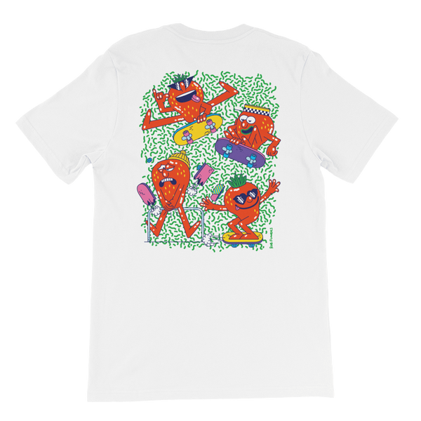 T-shirt Rob Flowers COWABUNGA-BERRY (Back print)
