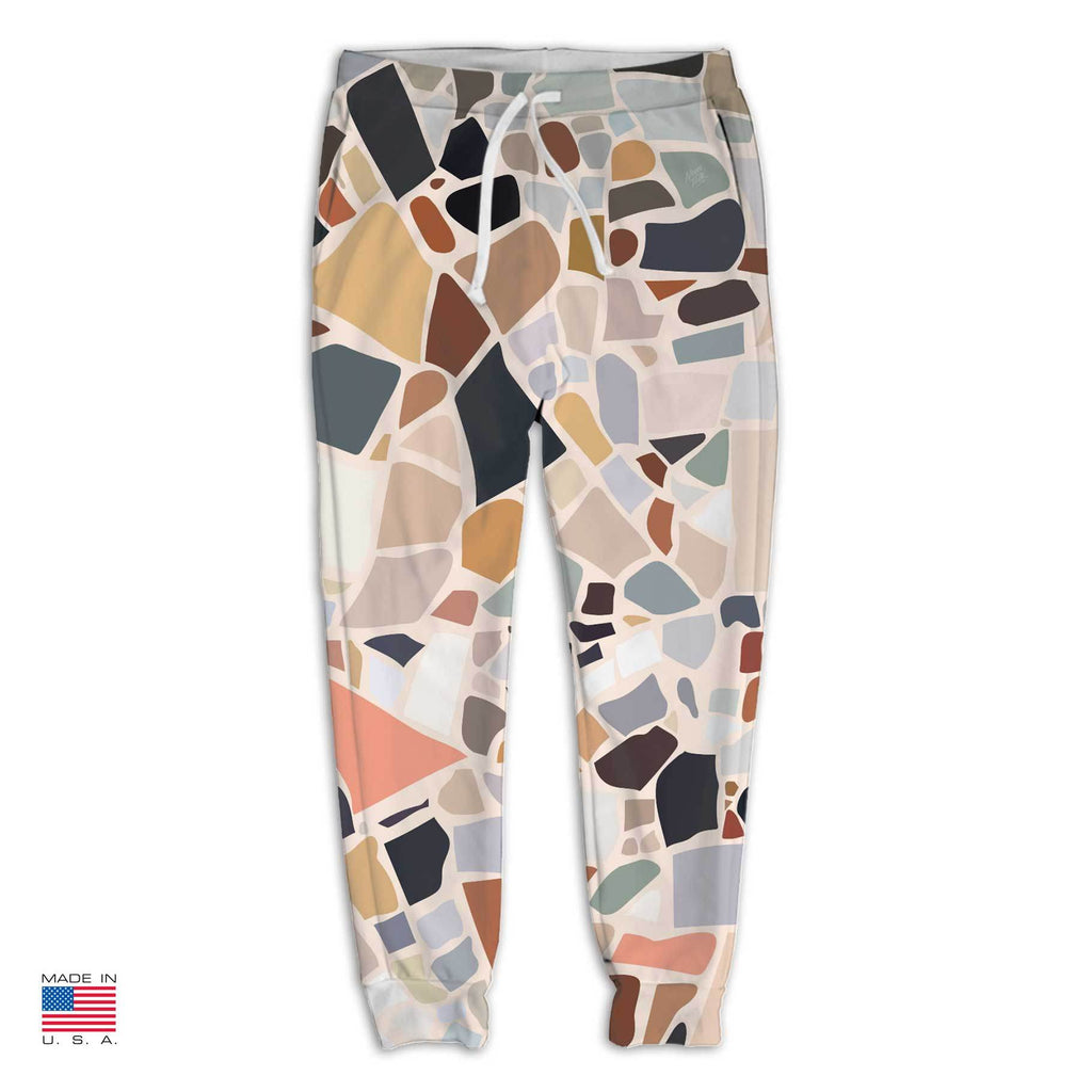 """Terrazzo"" Joggers by Charlotte Taylor"