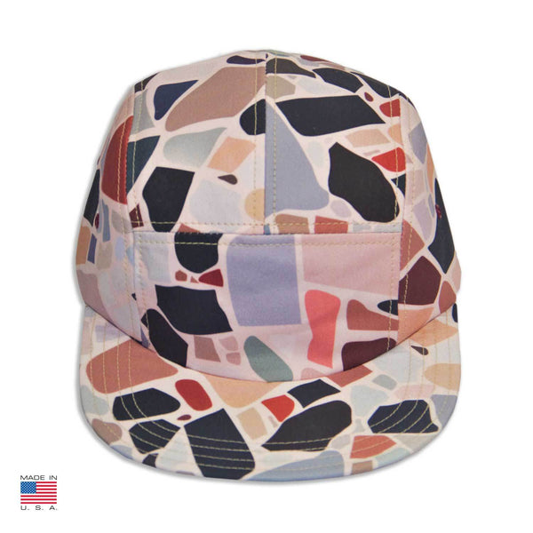 """Terrazzo"" Cap by Charlotte Taylor"