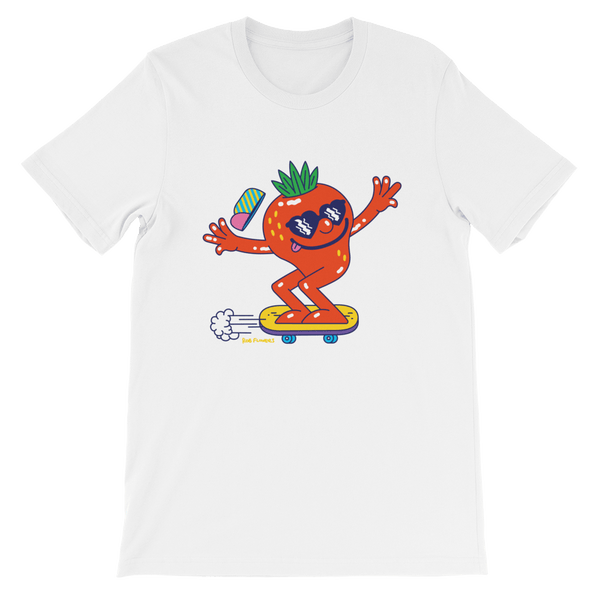 T-shirt Rob Flowers STRAWBERRY COOL (Front print)