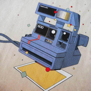 Polaroid 600 T-shirt by Matteo Cellerino