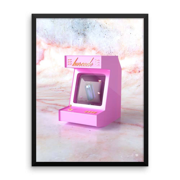 "New! ""Barcade"" Art Print by Blake Kathryn"