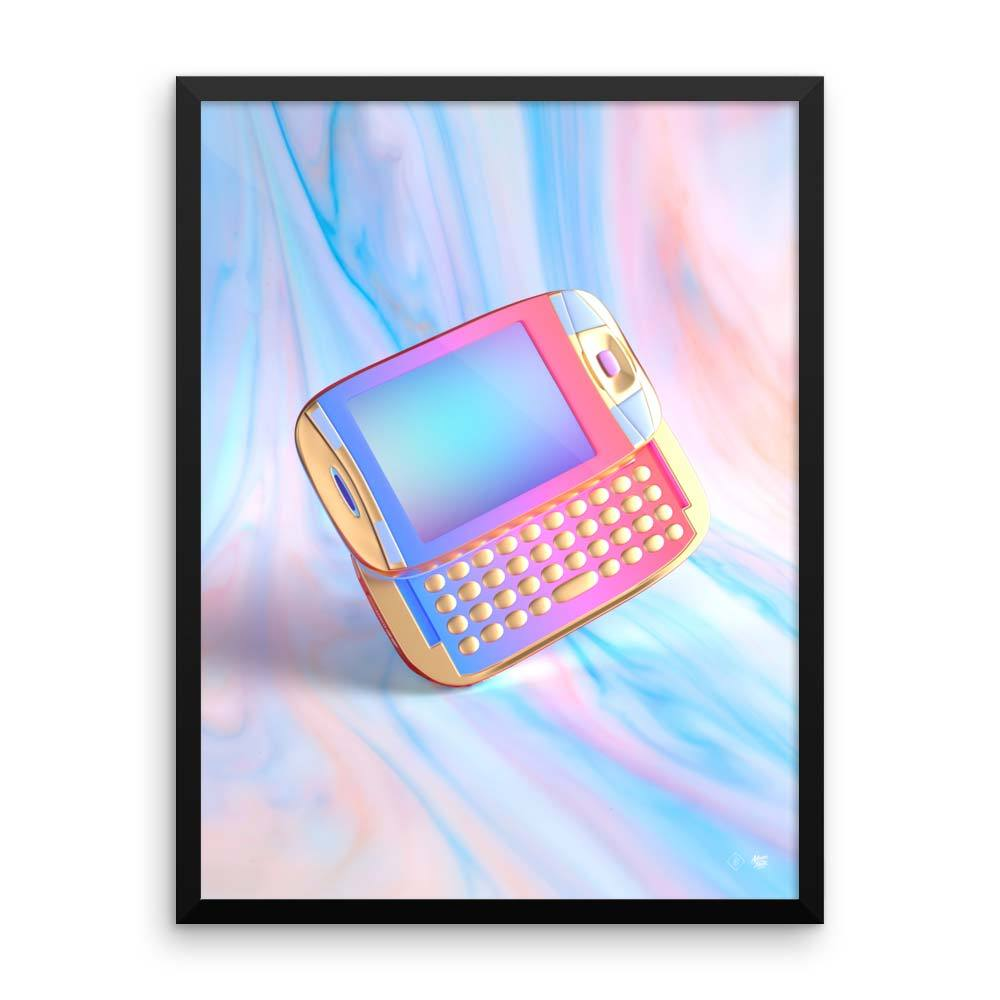 "New! ""Vapor Phone"" Art Print by Blake Kathryn"