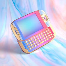 "Load image into Gallery viewer, ""Vapor Phone"" Art Print by Blake Kathryn"