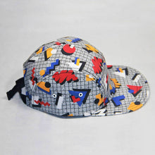 "Load image into Gallery viewer, ""Memphis Pop"" Gray Cap by Hanna Kastl-Lungberg"