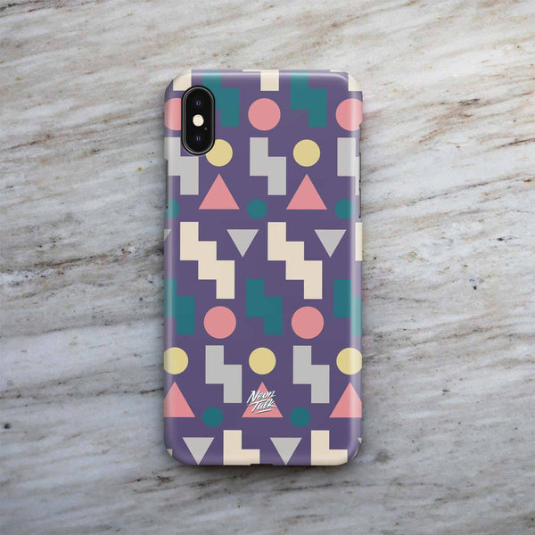 """Taco Talk"" Purple Phone Case by Freshcolor"