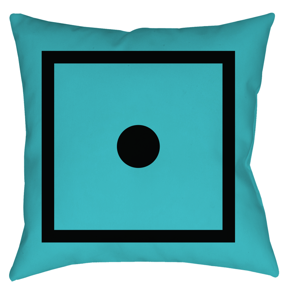 "SIXTIUS Pillow ""Bluebird"""