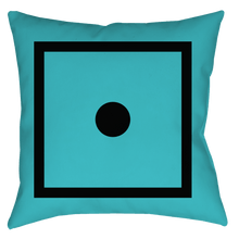 "Load image into Gallery viewer, SIXTIUS Pillow ""Bluebird"""
