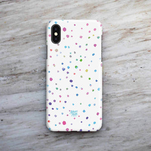 """Rainbow Coccus"" Phone Case by Taylor Gonzales"