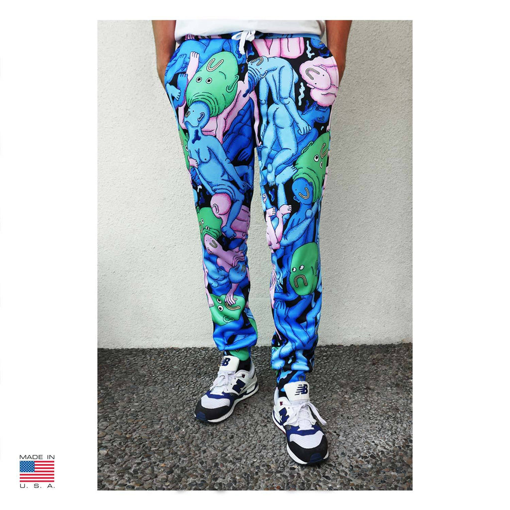 """Dreamy Swim"" Joggers by Alex Gamsu Jenkins"