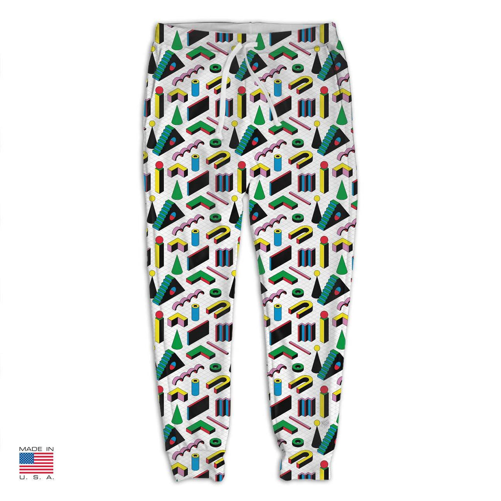 Labyrinth White Joggers by Vengodelvalle