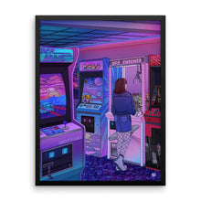 "Load image into Gallery viewer, ""Arcade"" Art Print by Kelsey Smith / Amdistsilence. Limited Editon."