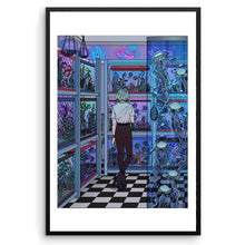 "Load image into Gallery viewer, ""Aquarium"" Art Print by Amidstsilence / Kelsey Smith"