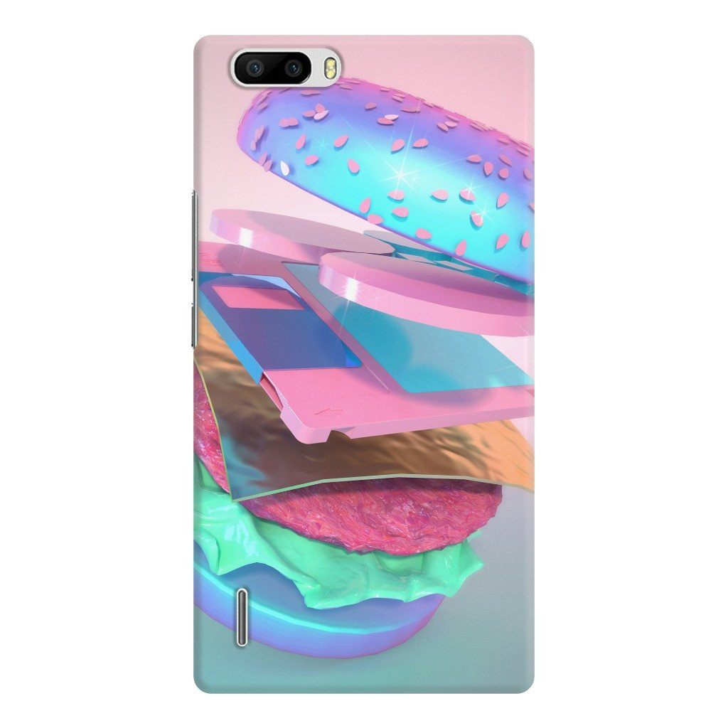 """Burger with Floppy Disc"" Phone Case by Pastelae"