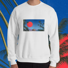 "Load image into Gallery viewer, ""Beach Boy"" Unisex Sweatshirt by Trey Trimble"