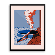 "Load image into Gallery viewer, ""Smokin' in Memphis"" Art Print by George Greaves"