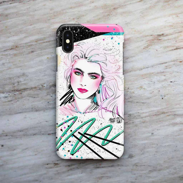 """Brooke Shields"" Phone Case by Mizucat"