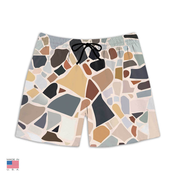 """Terrazzo"" Swim Shorts by Charlotte Taylor"