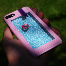 "Load image into Gallery viewer, ""Cool In The Pool"" Phone Case by Jiro Bevis"