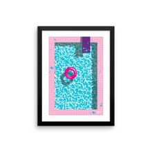 "Load image into Gallery viewer, ""Cool In The Pool"" Art Print by Jiro Bevis. Limited Edition"