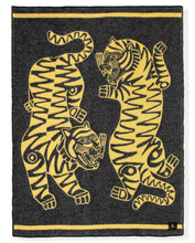 "Load image into Gallery viewer, ""Tiger Loop"" Pure Wool Blanket by Asis Percales"