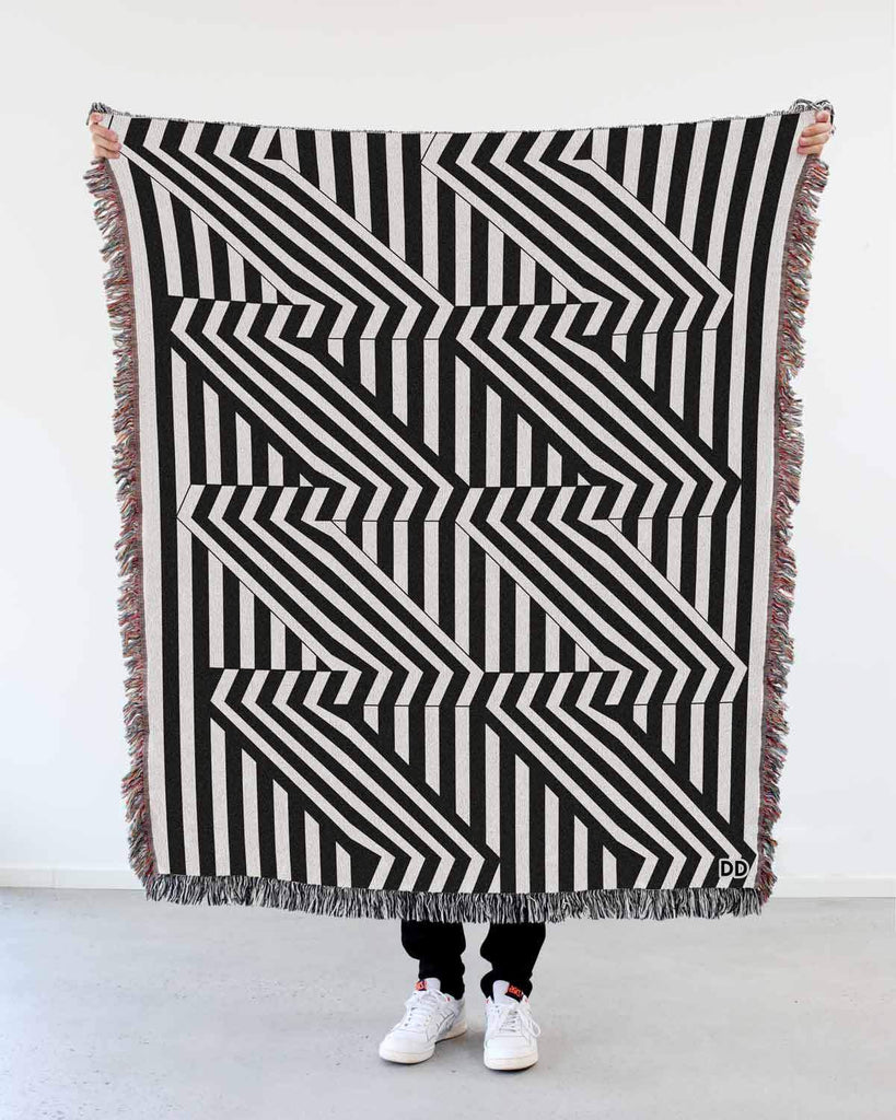 """Clip"" Woven Art Blanket by Peter Judson"