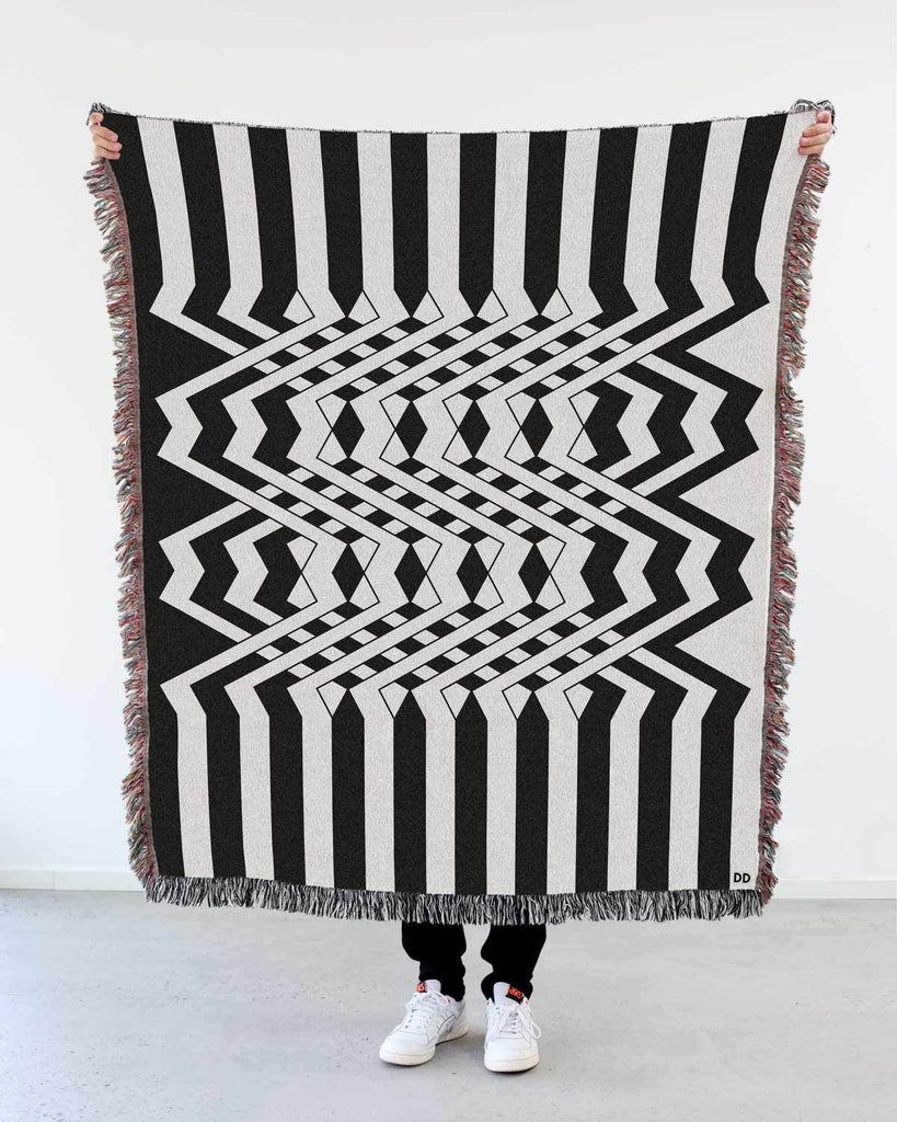 """Inter"" Woven Art Blanket by Peter Judson"