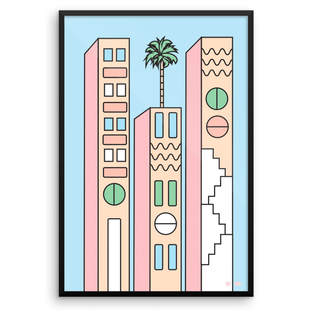 """California"" Art Print by DrakeCereal"