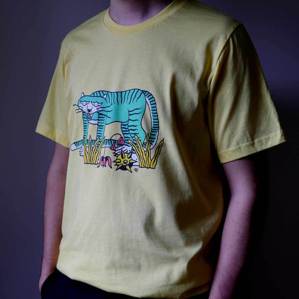 """Mint Creature"" T-shirt by Elliot Snowmam"