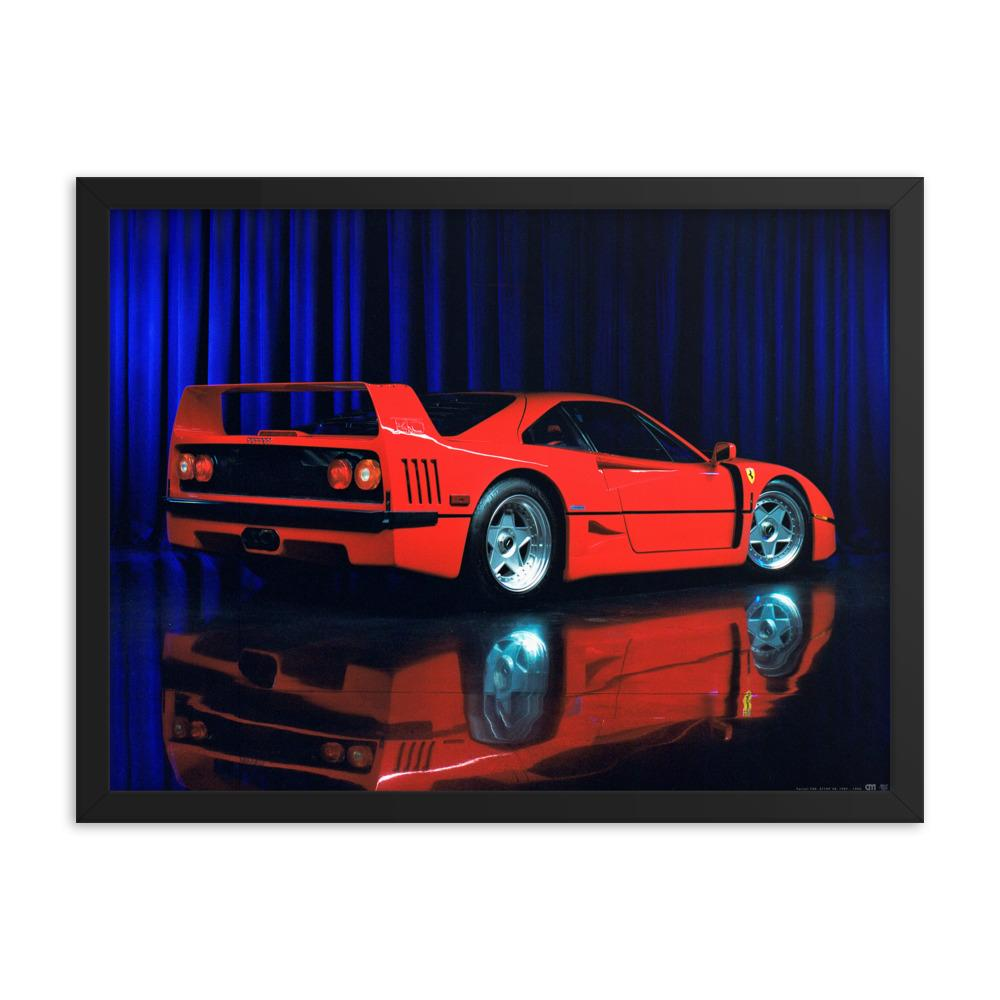 Ferrari F40 Art Print by CM Visuals