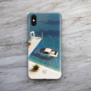 """Definitely Miami"" Phone Case by SR Formica"
