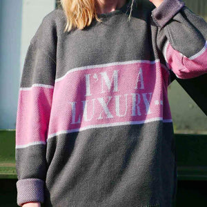 """I'm A Luxury Few Can Afford"" Unisex Knitted Sweater"