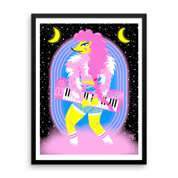 """Space Keyboard"" Art Print by Madelen Foss"