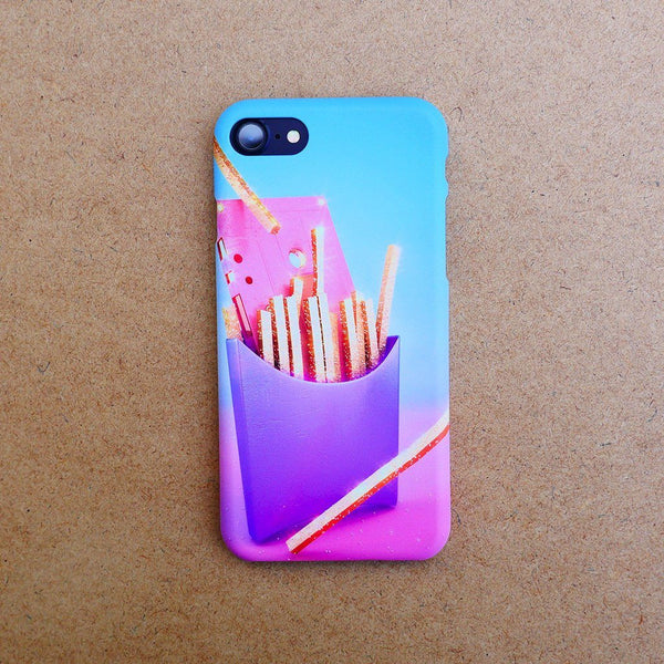 """Fries with Cassette"" Phone Case by Pastelae"