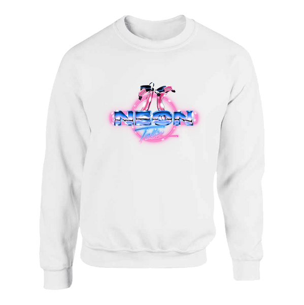 "Neon Talk ""Flamingo"" Unisex Sweatshirt"