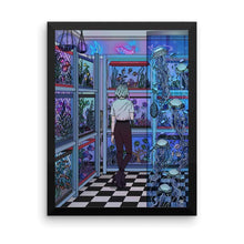 "Load image into Gallery viewer, ""Aquarium"" Art Print by Kelsey Smith / Amidstsilence. No Border"