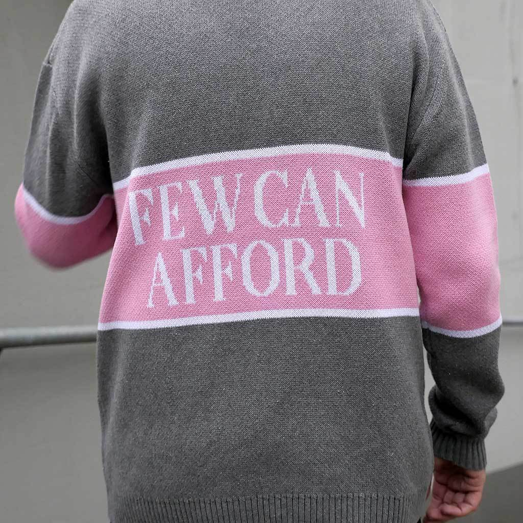 "NEW! ""I'm A Luxury Few Can Afford"" Unisex Knitted Sweater"