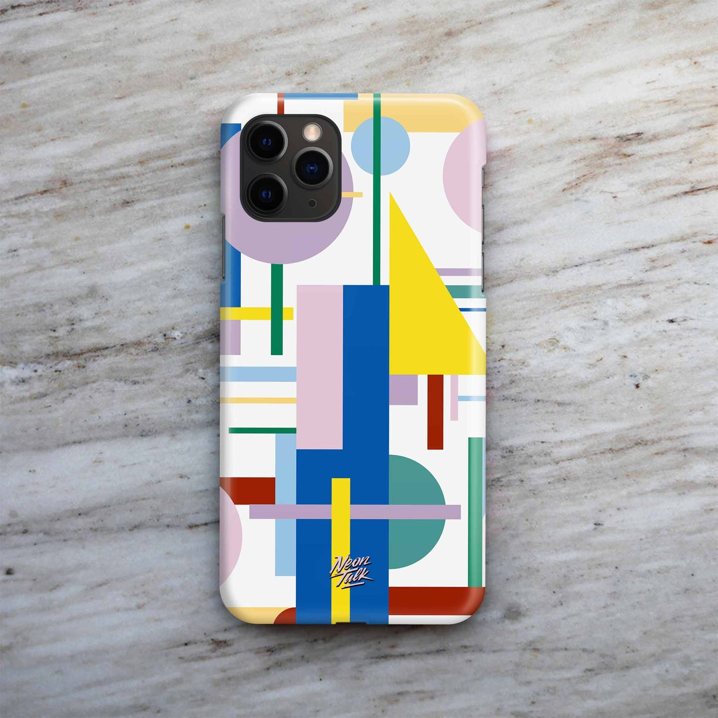 Lined Up Phone Case by Ana de Santons Díaz